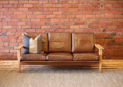 HANS WEGNER GE 290 Plank sofa
