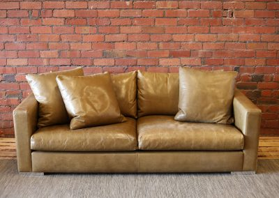 JARDAN leather sofa