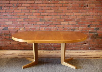KAI KRISTIANSEN oak dining table