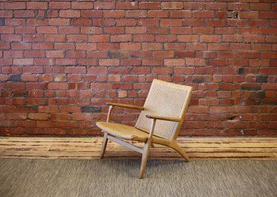 HANS WEGNER CH 25 lounge chair