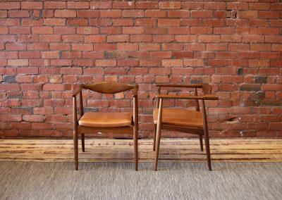 HANS WEGNER CH35 arm chairs