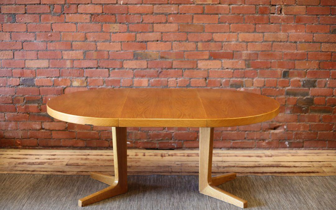 KAI KRISTIANSEN oak dining table