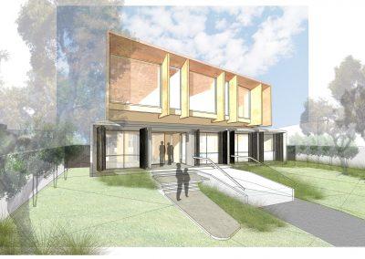 concrete + copper house  @ 13th beach
