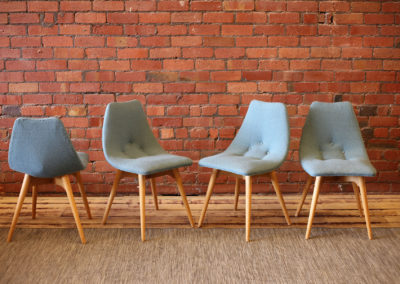 FEATHERSTON D350 dining chairs