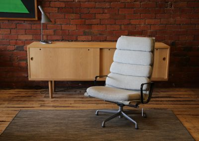 Eames softpad chair by Herman Miller